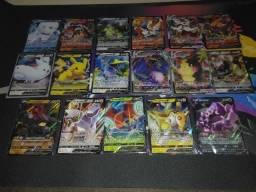 Lote Pokémons V e VMAX - Pokémon TCG