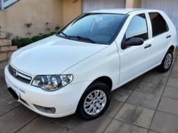 Fiat Palio 2012 Economico 4 portas Branco basico Financio