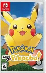 Pokémon: Let's Go, Pikachu! Nintendo Switch Mídia Física