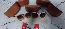 Liquida outlet óculos de Sol carmim originais novos com garantia de 499 por 149