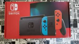 Nintendo Swich v2 completo+3 jogos