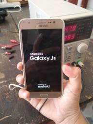 Celular SM J500M DS tela inicial