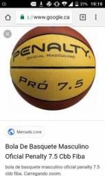 Vendo 02 bolas basquete e vôlei