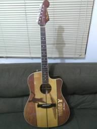 Troco Violão Fender John Severson Woody Sonoran Novíssimo!!