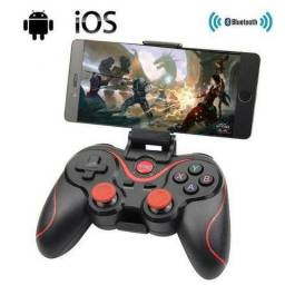 Kit Joystick Android Pc Bluetooth 4.0 Adaptador Cabo Clip