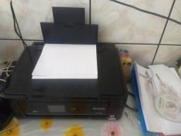Prensa termica e impressora sublimatica