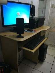 Promoção computador + impressora + mesa