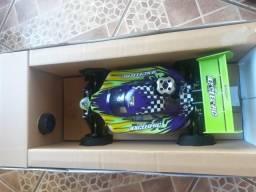 Automodelo buggy nitro 4x4 motor exceed .16 completo