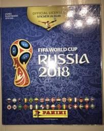 Figurinhas Álbum Copa do Mundo Rússia 2018