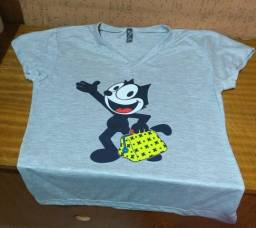 Camisetas de algodão personalizadas c8b525123105a