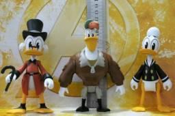 Ducktales 2018 : lote com 3 bonecos - Tio Patinhas Pato Donald e Capitão Bóing