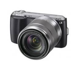 Câmera Digital Sony Alpha NEX-C3K com Lente 18-55 mm, 16.2 Megapixels