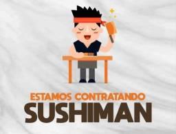 Vaga para Sushiman em Volta Redonda