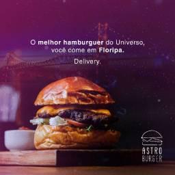 Astro Burger Contrata Chapeira (o)