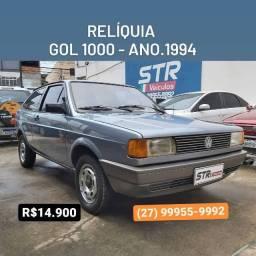 RELÍQUIA - Gol 1000 - ANO 1994 - R$ 14.900