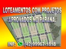 Loteamentos com projetos aprovados no Paraná