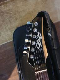 guitarra uma Seizi Strato ler anincio