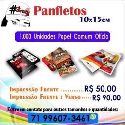 Serviço Gráficos/ Panfletos