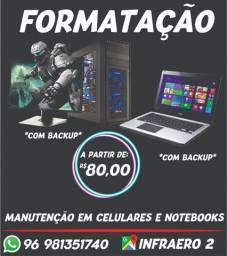 Formatação de Computador ou Notebook