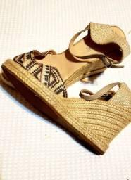 Combo 3 pares de sandálias num 39 pouquíssimo usadas