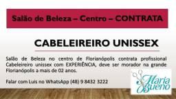 Contratação - Salão de Beleza - Centro de Florianópolis