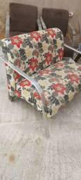 Cadeira de decoração dupla ou namoradeira ld