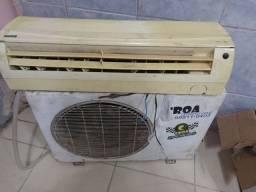 Ar condicionado Splinter funcionando