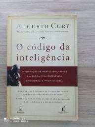 Livro físico - o código da inteligência - Augusto Cury