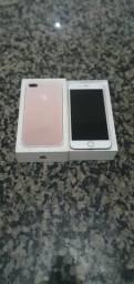 Iphone 7Plus 128GB Na cor Rose