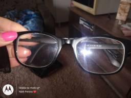 Armação de óculos clipon
