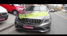 Mercedes cla 200 2014 blindada