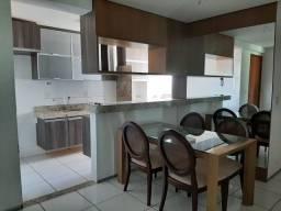 Apartamento semi mobiliado