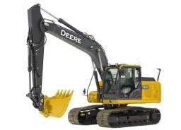Escavadeira hidráulica Jhon Deere