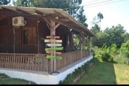 Velleda oferece sítio 2000 m² com casa e canil, 2,5 km do asfalto, ac troca