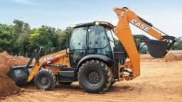 Retroescavadeira Case 580n 4x4 2020 Cabinada