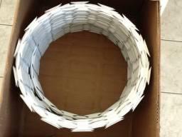 Concertina 45 cm dupla rende 8 metros 56 espiras