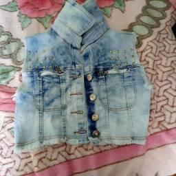 Vendo colete jeans  em ótimo estado