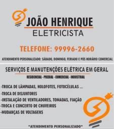Serviço elétrico