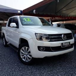 VW - Amarok 2.0 4x4 Turbo Diesel Higline - 2012