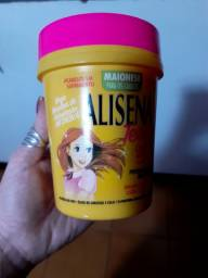Máscara de hidratação  Alisena. Pote cheio