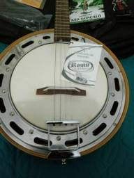 Vendo banjo Rozini novo!