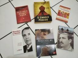 Kit com 6 livros