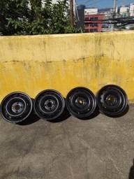 Vendo 4 rodas de ferro aro 14 serve em peojot e ford