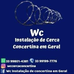 Cerca concertina - Instalação de cerca concertina em geral