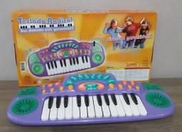 Teclado musical infantil