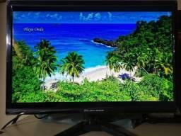 Monitor LED 19 Polegadas Novo na caixa - Entrada HDMI e VGA c/ cabo HDMI incluso