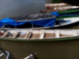 Vendo canoa de alumínio com 10 m