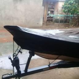 barco carreta e motor