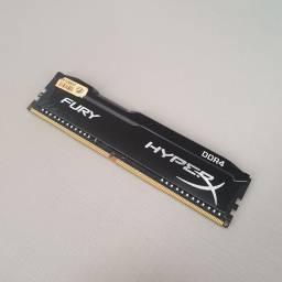 Memória RAM DDR4 4GB Hyper X Fury