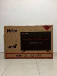 TV Led 39 polegadas Philco na caixa